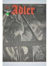Der Adler - Nr. 1 - Januar 1944 - englische Ausgabe