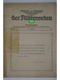 Der Führerorden - Folge 37 - 6. Dezember 1935 - Verordnungsblatt - NSDAP Gau Bayerische Ostmark