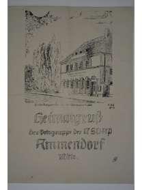 Heimatgruß - Der Ortsgruppe der NSDAP Ammendorf Mitte - August 1943 - Halle a.d. Saale