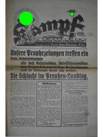 Kampf - Nr. 22 - 28. Mai 1932 - Hans Schemm - Bayreuth