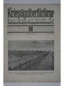 Kriegsgräberfürsorge - Heft 11 - November 1930