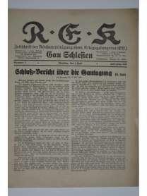 R-E-K - Gau Schlesien - Nr. 7 - 1. Juli 1931