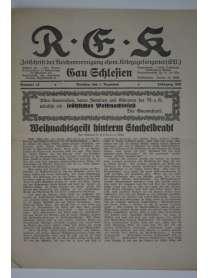 R-E-K - Gau Schlesien - Nr. 12 - 1. Dezember 1931
