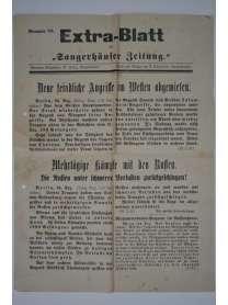 """Extra-Blatt der """"Sangerhäuser Zeitung"""" - Nr. 28 - 24. Dezember 1914"""