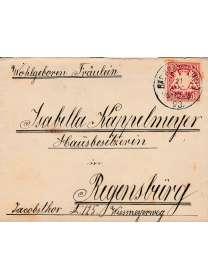 Brief - Regensburg - 1893