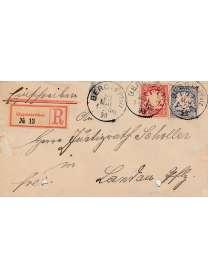 Brief - Landau Pfalz - 1898