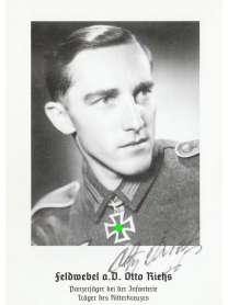 Autograph - Otto Riehs