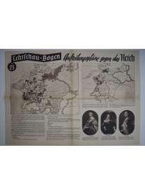 Lehrschau-Bogen - Nr. 23/23a - Aufteilungspläne gegen das Reich