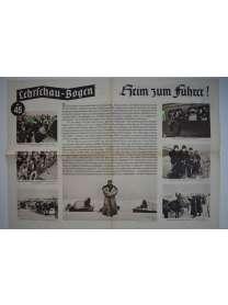 Lehrschau-Bogen - Nr. 46/46a - Heim zum Führer!