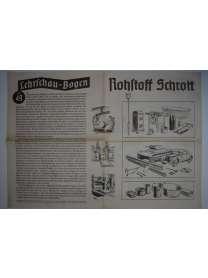 Lehrschau-Bogen - Nr. 49/49a - Rohstoff Schrott