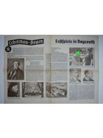 Lehrschau-Bogen - Nr. 56/56a - Festspiele in Bayreuth