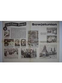Lehrschau-Bogen - Nr. 58/58a - Sowjetunion