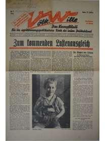 Völkischer Wille - Nr. 7 - 13. Februar 1936