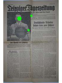 Leipziger Tageszeitung - Nr. 87 - 28. März 1936