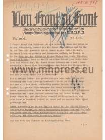 Von Front zu Front - Briefe des Hauptschulungsamt der NSDAP - Nr. 6 - 25. April 1940