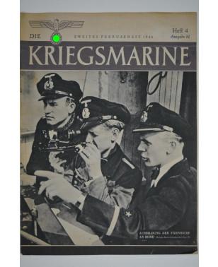 Die Kriegsmarine Heft 4 Februar 1944 Ausgabe M-21