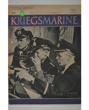 Die Kriegsmarine Heft 4 Februar 1944 Ausgabe S-20