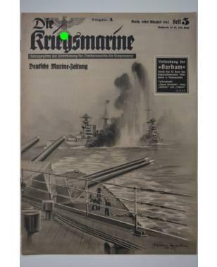 Die Kriegsmarine Heft 5 März 1942 Ausgabe A-20