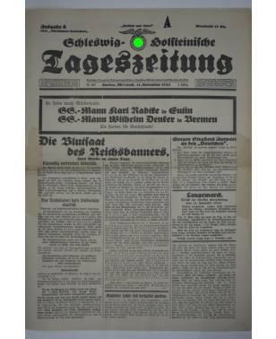 Schleswig-Holsteinische Tageszeitung Nr. 265 11. November 1931 Ausgabe A-20