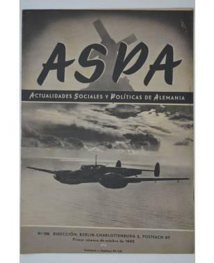 ASPA Actualidades Sociales y Politicas de Alemania No. 129 1942 Deutsche soziale und politische Nachrichten-20