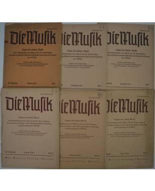 Konvolut Die Musik 1942-1943-20