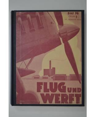 Flug und Werft Jahrgang 1938 1939 1940 Deutsche Luftwacht Ausgabe Luftwelt Nachrichten NSFK Gruppe 9-20