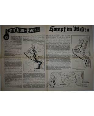 Lehrschau-Bogen Nr. 45/45a Kampf im Westen-20