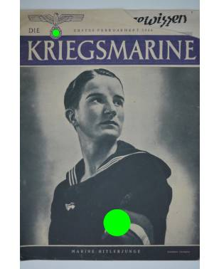 Die Kriegsmarine Heft 3 Februar 1944 Ausgabe S-20