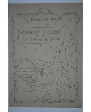 Bierzeitung Erinnerungsschrift Sanitäts Kompanie 2/222 Russland Kriegswinter 1941-20