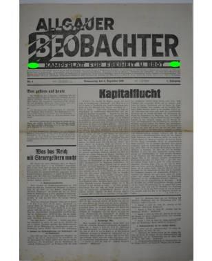 Allgäuer Beobachter Nr. 4 4. Dezember 1930-20
