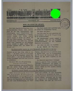 Österreichischer Beobachter Sonderfolge November 1936-20