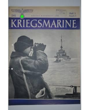 Die Kriegsmarine Heft 5 März 1944 Ausgabe S-20