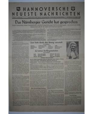 Hannoversche Neueste Nachrichten Nr. 27 2. Oktober 1946-20