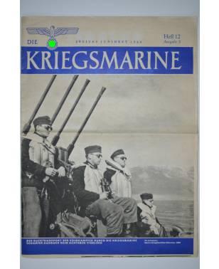 Die Kriegsmarine Heft 12 Juni 1944 Ausgabe S-20