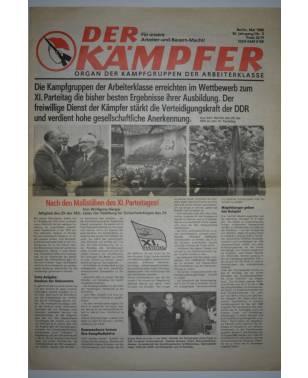 Der Kämpfer Organ der Kampfgruppen der Arbeiterklasse Nr. 5 Mai 1986-20