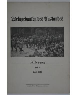 Wehrgedanken des Auslands Heft 6 Juni 1934-20