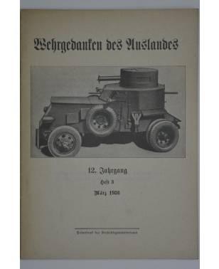 Wehrgedanken des Auslands Heft 3 März 1936-20