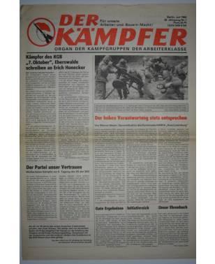 Der Kämpfer Organ der Kampfgruppen der Arbeiterklasse Nr. 7 Juli 1984-20