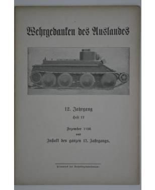 Wehrgedanken des Auslands Heft 12 Dezember 1936-20