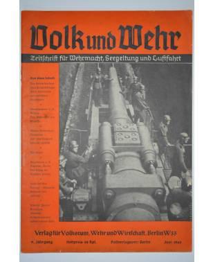 Volk und Wehr Zeitschrift für Wehrmacht, Seegeltung und Luftfahrt Juni 1940-20