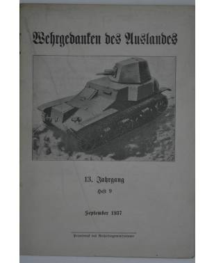 Wehrgedanken des Auslands Heft 9 September 1937-20