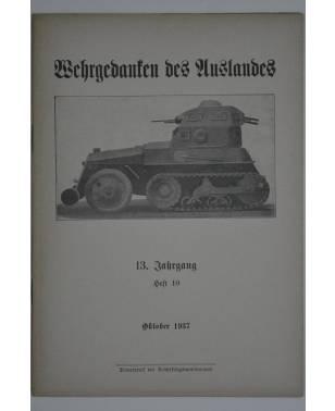 Wehrgedanken des Auslands Heft 10 Oktober 1937-20