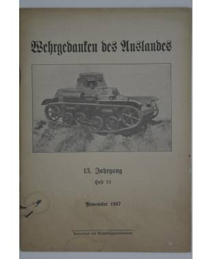Wehrgedanken des Auslands Heft 11 November 1937-20