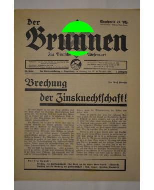 Der Brunnen Für Deutsche Wesensart 12. Folge 17. Brachet 1934-20