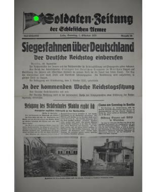 Soldaten-Zeitung der Schlesischen Armee Nr. 23 1. Oktober 1939-20
