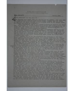 Feldpostbrief Bann Halle/36 Ostern 1944-20