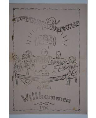 Bierzeitung Erinnerungsschrift Kameradschaftsabend 1940-20