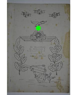 Bierzeitung Erinnerungsschrift 11. (Erg.) Batterie II. Flakregiment 7 Wolfenbüttel 1937-20