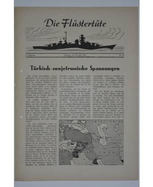 """Die Flüstertüte Nr. 46 28. Juni 1942 Bordzeitung Kreuzer """"Admiral Hipper""""-20"""