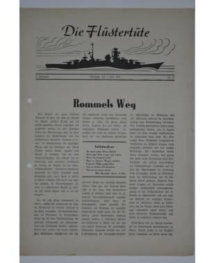 """Die Flüstertüte Nr. 47 1. Juli 1942 Bordzeitung Kreuzer """"Admiral Hipper""""-20"""